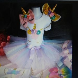 Other - Unicorn birthday outfit